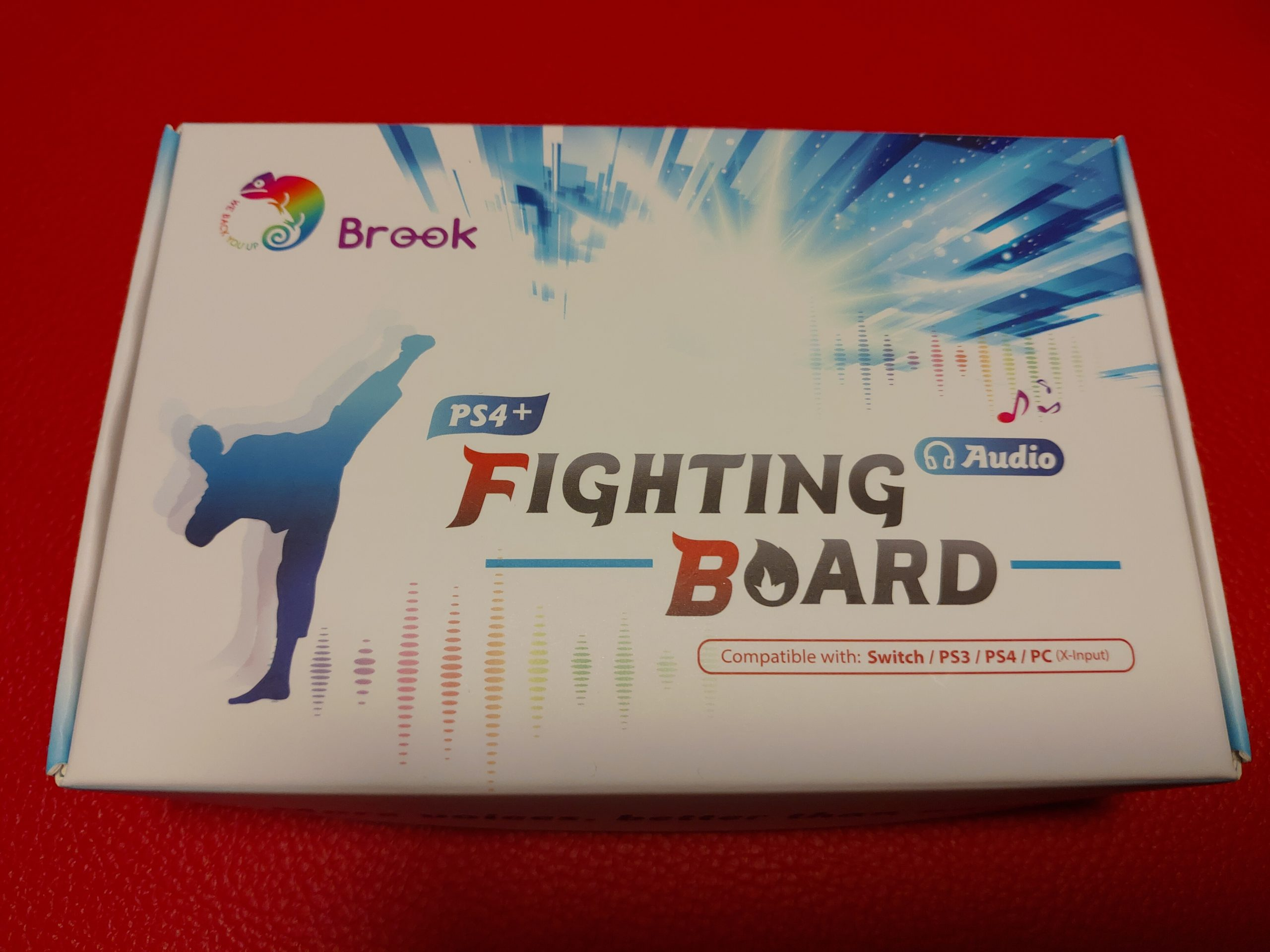 Brook PS4+ AUDIO FIGHTING BOARD レビュー